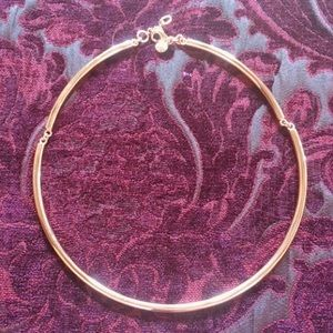 Jewelry - J Crew rose gold collar necklace
